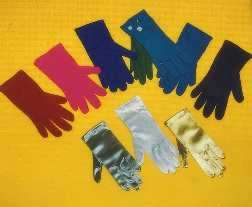 Gloves Colored Nylon Gloves