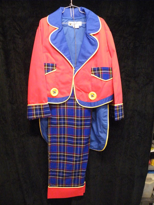 Ring Master Coat and Pants